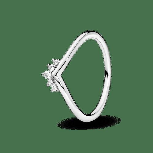 Anillo Hueso de los deseos con tiara