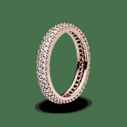 Anillo Pavé Elegante  Pandora Rose