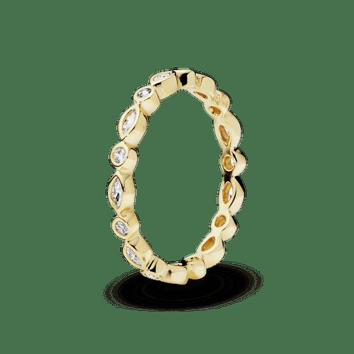 Anillo Marquesa Elegante Oro 14K