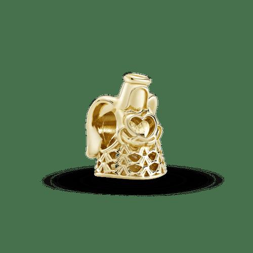 Charm de oro calado Ángel