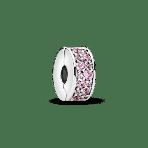 Charm Sujetador de pavé rosa