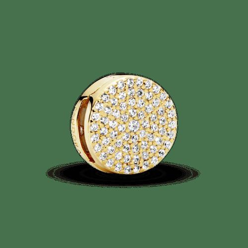 Charm Sujetador redondo con pavé Pandora Shine Reflexions