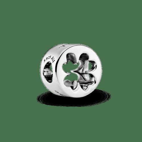 Charm trébol de cuatro hojas Suerte y Valentía
