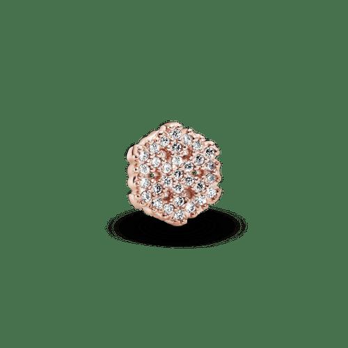 Pequeño Elemento Para Medallón Copo De Nieve Reluciente Pandora Rose