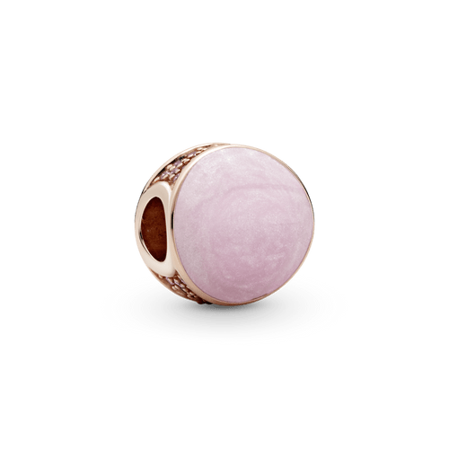 Charm Remolino rosa Pandora Rose