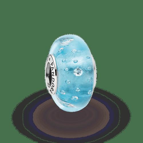 Charm Efervescencia Azul Y Cz Clara