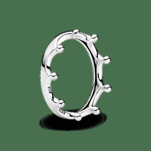 Anillo Corona pulida