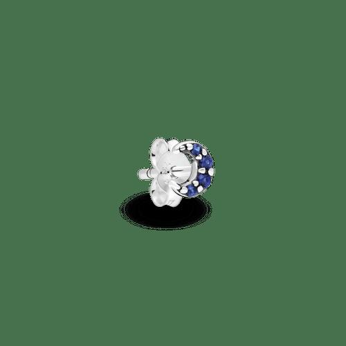 Arete de botón Mi luna