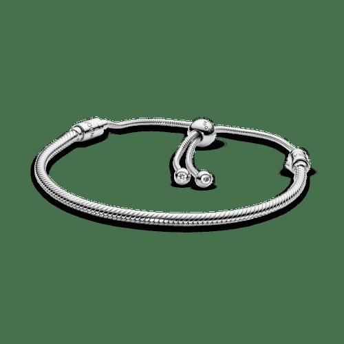 Brazalete deslizante Pandora Moments cadena de serpiente