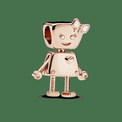 Charm Bella Bot Pandora Rose