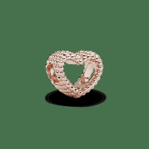 Charm corazón abierto con cuentas Pandora Rose