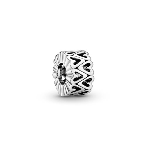Charm Espaciador Corazón calado de diseño libre
