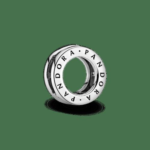 Charm Sujetador Círculo con logotipo de Pandora Reflexions