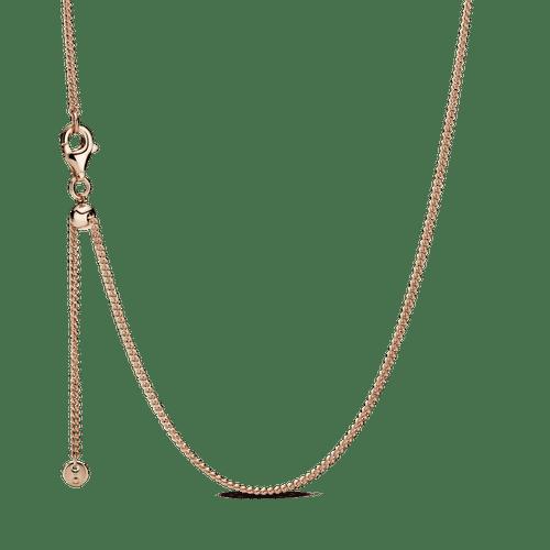 Collar Cadena de bordillo Pandora Rose