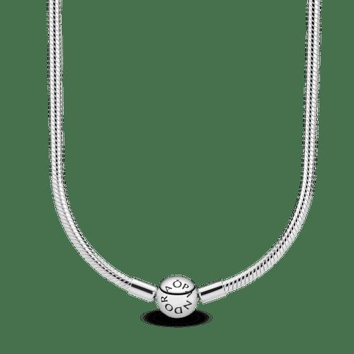 Collar cadena de serpiente Pandora Moments