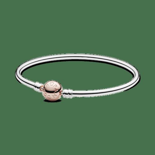 Brazalete rígido broche Pandora Moments Rose