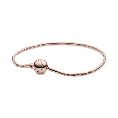 Brazalete Cadena De Serpiente Pandora Essence Rose