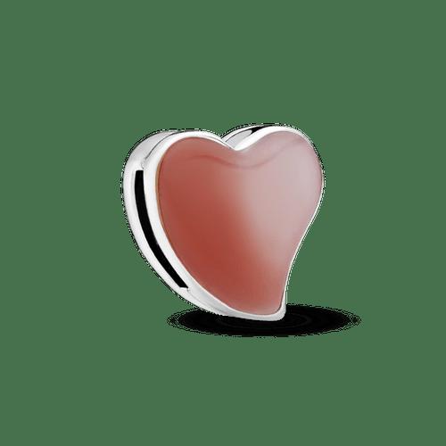 Clip Sujetador Corazón Asimétrico
