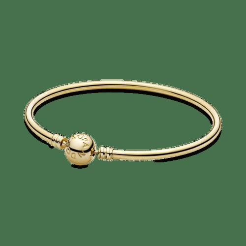 Brazalete rígido Oro 14K  Pandora Moments