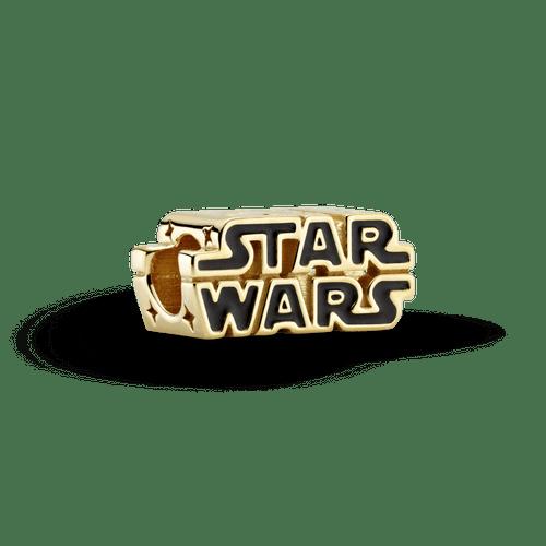 Charm con logo brillante 3D de Star Wars Pandora Shine