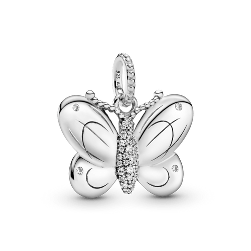 Dije Mariposa de pavé