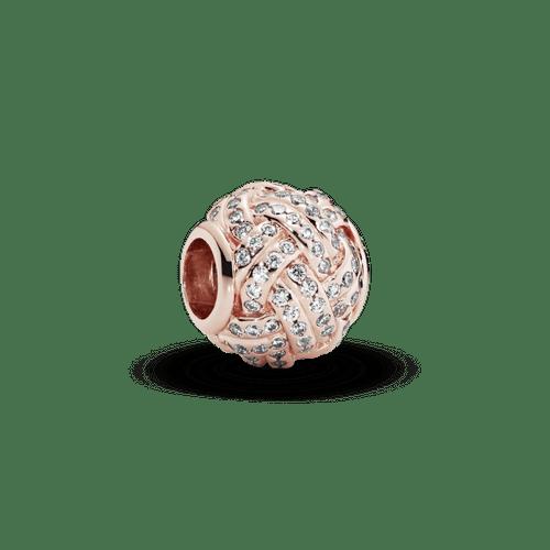 Charm Nudo Reluciente Pandora Rose