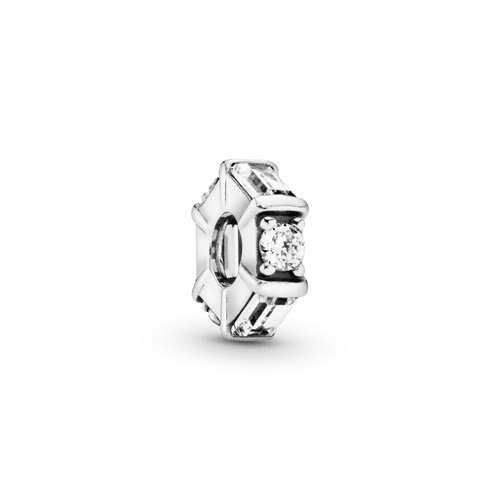 Charm Separador Cubo De Hielo Transparente
