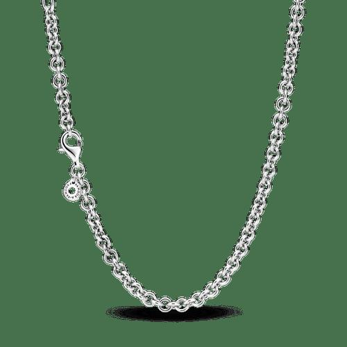 Collar Cadena De Cable Grueso