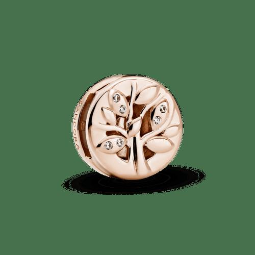 Charm Sujetador Árbol de familia reluciente Pandora Rose Reflexions