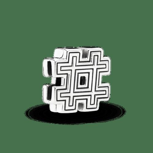 Clip fijo símbolo hashtag Reflexions