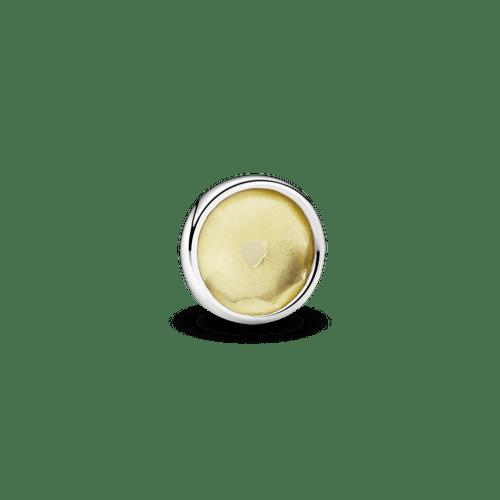 Pequeño Elemento Para Medallón Piedra Natal Amarilla Noviembre