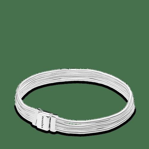 Brazalete de múltiples cadenas de serpiente Pandora Reflexions