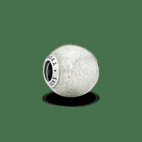 Charm Brillo de plata