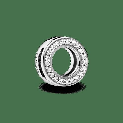 Charm Sujetador Círculo de Pavé Pandora Reflexions