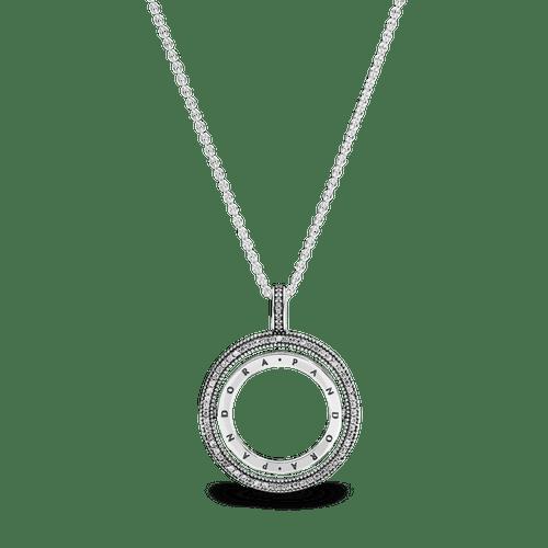 Collar Círculo con logotipo de Pandora