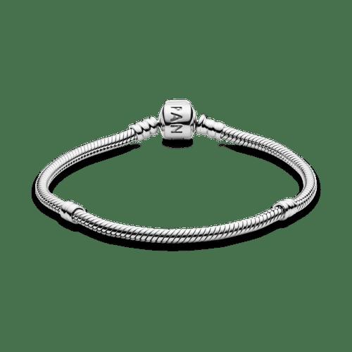 Brazalete cadena de serpiente con cierre Pandora Moments